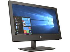 Моноблок HP ProOne 400 G4 Black 4HS40EA (Intel Core i3-8100T 3.1 GHz/4096Mb/500Gb/UHD Graphics 630/Wi-Fi/Bluetooth/Cam/20.0/1600x900/Windows 10 Pro)