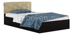 Кровать полутораспальная Виктория-П 2000х1200 Наша мебель