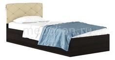 Кровать односпальная Виктория-П с матрасом 2000х900 Наша мебель