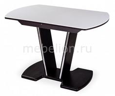 Стол обеденный Румба с камнем Домотека