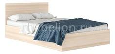 Кровать полутораспальная Виктория с матрасом 2000х1200 Наша мебель