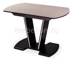 Стол обеденный Танго со стеклом Домотека