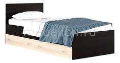 Кровать односпальная Виктория с матрасом 2000х900 Наша мебель