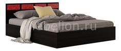 Кровать двуспальная Виктория-С с матрасом 2000х1600 Наша мебель