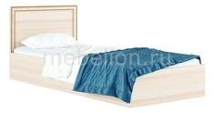Кровать односпальная Виктория-Б с матрасом 2000х900 Наша мебель