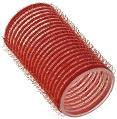 Sibel - Бигуди на липучке 36 мм красные, 12 шт./уп.