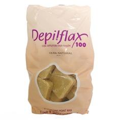 Depilflax - Воск горячий в дисках Натуральный для любого типа волос, 1 кг