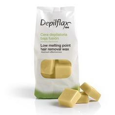 Depilflax - Воск горячий в дисках Хлопок для любого типа волос, 1 кг