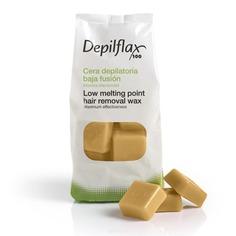 Depilflax - Воск горячий в дисках Капучино для любого типа волос, 1 кг