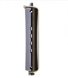 Comair - Бигуди, D 16 мм, с круглой резинкой, серо-черные, 12 шт