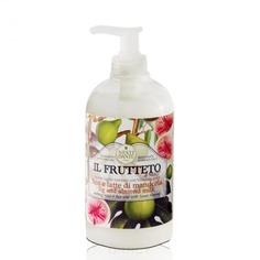 Nesti Dante - Жидкое мыло Инжир и миндальное молоко Il Frutteto, 500 мл