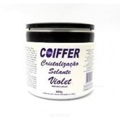 Coiffer - Маска для разглаживания волос Cristalizacao Violet, 500 г