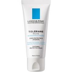 La Roche Posay - Успокаивающий увлажняющий крем для сверхчувсвтительной сухой кожи Toleriane Riche, 40 мл