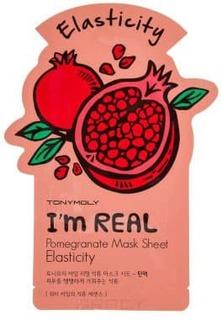 Tony Moly - Тканевая маска для лица с экстрактом граната I'm Real Pomegrante Mask Sheet Elasticity, 21 мл