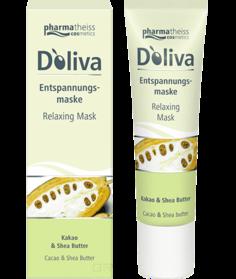 Doliva - Расслабляющая маска для лица с маслом дерева Ши и маслом какао, 30 мл
