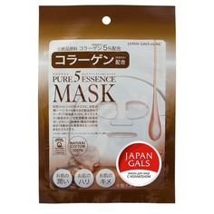 Japan Gals - Маска с коллагеном Pure5 Essential
