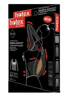 Hotex - Майка-корсет (длинный рукав) (2 цвета)