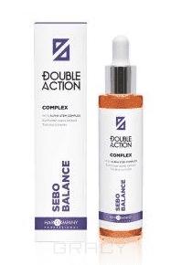 Hair Company - Комплекс (концентрат), регулирующий работу сальных желез Double Action Sebo Balance Complex, 50 мл