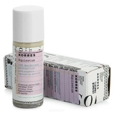 Korres - Дезодорант с экстрактом хвоща для очень чувствительной кожи 24 часа, 30 мл