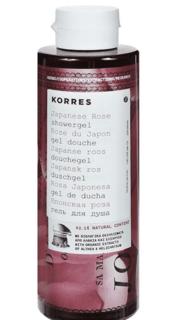Korres - Гель для душа Японская роза, 250 мл