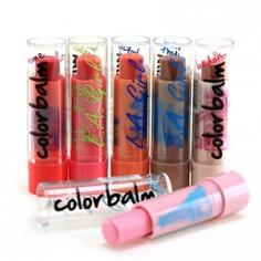 L.A. Girl - Бальзам для губ Color Balm Lip, 4 гр (3 оттенка)