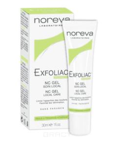 Noreva - NC-Гель локальный уход с Ниацинамидом Exfoliac, 30 мл