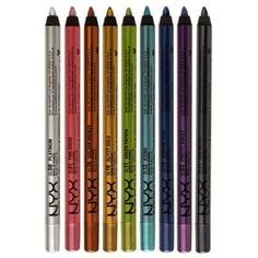 NYX - Стойкий карандаш для глаз Slide on Pencil (9 оттенков)