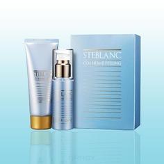 Steblanc - Двухфазный пилинг для лица CO2 Home Peeling Collagen Firming, 50 + 50 мл 36EA