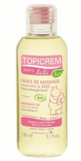 Topicream - Массажное масло для тела и кожи головы для детей и мам, 150 мл