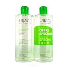 Uriage - Мицеллярная вода очищающая для комбинированной и жирной кожи, 2 х 500 мл