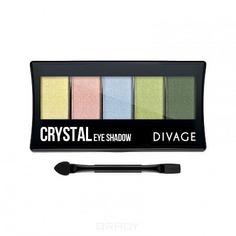 Divage - Палетка теней для век Palettes Eye Shadow Crystal, 7 гр