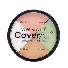 Wet n Wild - Набор корректоров для лица (4 Тона) Coverall Concealer Palette