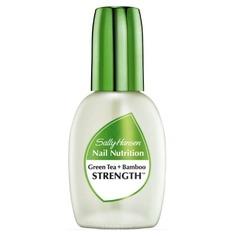 Sally Hansen - Средство для укрепления слабых хрупких ногтей 2 в 1: база и верхнее покрытие Nail Nutrition Green Tea+Bamboo Nail Strengthene Nailcare