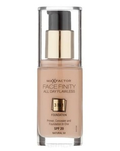 Max Factor - Тональная основа Facefinity All Day Flawless 3-in-1 (8 оттенков), 30 мл