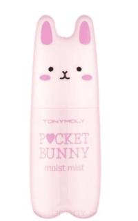 Tony Moly - Увлажняющий спрей-тонер Pocket Bunny Mist #Moist, 60 мл