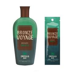 Emerald Bay - Крем для загара с натуральным бронзатором и ДГА для загорелой кожи Bronze Voyage