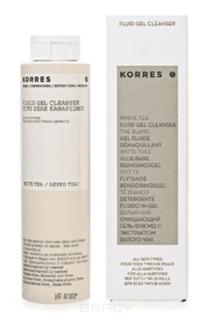 Korres - Очищающий гель с белым чаем, 200 мл
