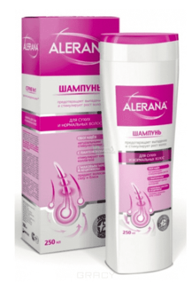 Alerana - Шампунь для сухих и нормальных волос, 250 мл