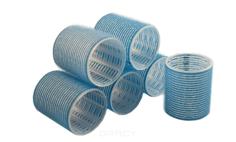 Sibel - Бигуди на липучке 56 мм голубые, 6 шт/уп