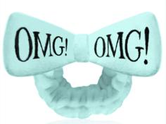 Double Dare OMG - Бант-повязка для фиксации волос во время косметических процедур, мятный
