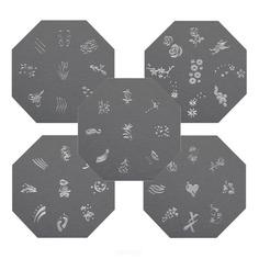 Planet Nails - Диск с шаблонами для дизайна ногтей