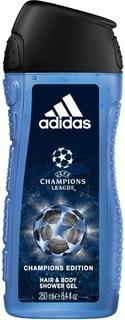 Adidas - Гель для душа мужской UEFA 4 Champions Edition, 250 мл