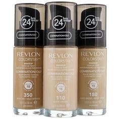 Revlon - Тональный крем для комбинированной и жирной кожи Colorstay Makeup For Combination-Oily Skin, 30 мл (5 тонов)