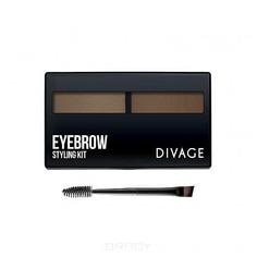 Divage - Набор для моделирования формы бровей Eyebrow Styling (2 тона)