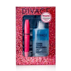 Divage - Подарочный набор № 54 (тушь для ресниц, средство для снятия макияжа)