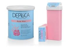 Depilica - Теплый воск Розовый Rose Warm Wax, 800 гр
