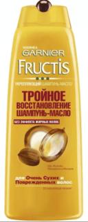Garnier - Шампунь для волос Тройное восстановление Масло