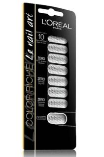 L'Oreal - Стикеры для ногтей Color Riche, 18 шт (2 вида)