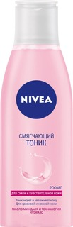 Nivea - Смягчающий тоник для сухой кожи Aqua effect, 200 мл