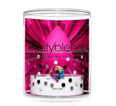 BeautyBlender - Набор косметический спонж розовый Original + мини-мыло Blendercleanser Solid Mini